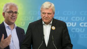 Ergebnis der Hessen-Wahl: Hauchdünne Mehrheit für Schwarz-Grün