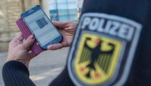 Bundespolizei: Smartphone-Fahndung erfolgreich getestet