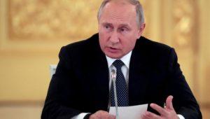 Russlands Präsident Putin warnt USA vor neuem Wettrüsten