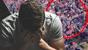 Mann will nur Haustür aufsperren – und erlebt Schock seines Lebens