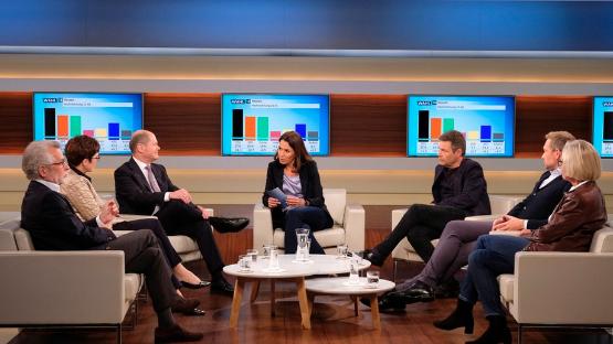 """""""Anne Will"""" zur Hessen-Wahl – Braucht die Große Koaltion einen """"Fahrplan""""?"""
