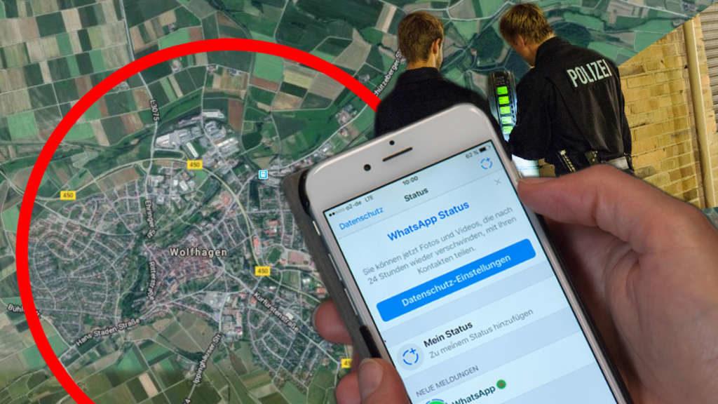 12-Jähriger ändert WhatsApp-Statusbild – sofort Polizeieinsatz