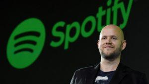 Streaming-Gigant Spotify macht ersten Gewinn