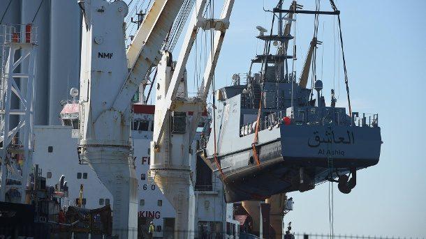 Mecklenburg-Vorpommern: Exportstopp könnte 20 Patrouillenboote treffen