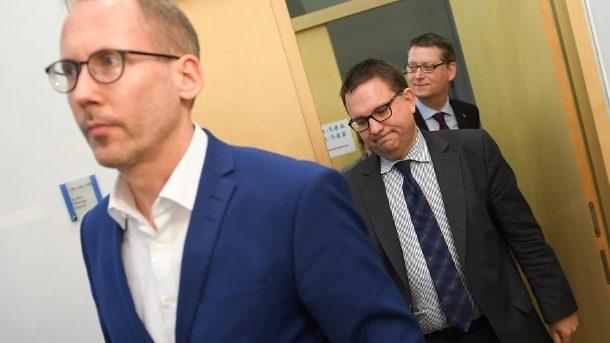Nach Landtagswahl in Hessen: Grüne, SPD und FDP reden über Ampelkoalition