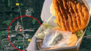 Polizisten kontrollieren Mann im Zug – dann fällt ihr Blick auf seinen Burger