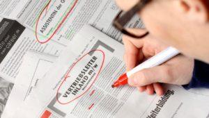 Die drei größten Bewerbungs-Killer bei Job-Anzeigen