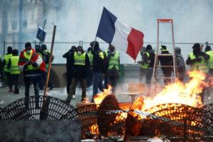 """Donald Trump zu """"Gelbwesten"""": """"Wegen Klimaschutzabkommen brennt Frankreich nieder"""""""