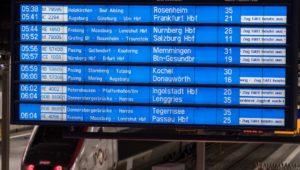 Fernverkehr bundesweit eingestellt