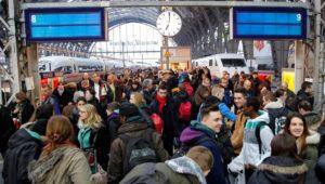 Bahn-Streik am Montagmorgen!