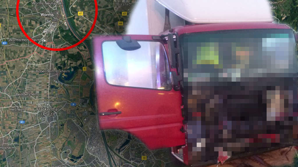 Trucker im Lkw nicht angeschnallt am Steuer – plötzlich passiert schlimmes Unglück