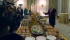 Besuch im Weißen Haus: US-Präsident Donald Trump serviert McDonald's
