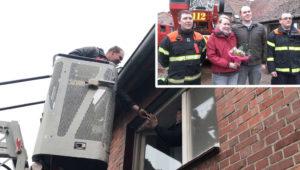Frau lehnt Heiratsantrag eiskalt ab – dann greift die Feuerwehr ein