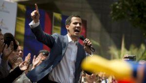 Venezuela: Geheimdienst nimmt Parlamentschef Juan Guaidó fest