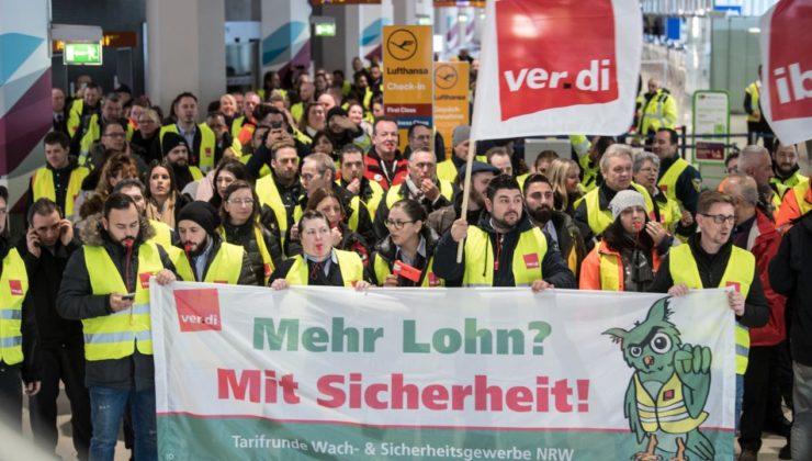 Achtung! Morgen Streiks auf 8 Flughäfen!