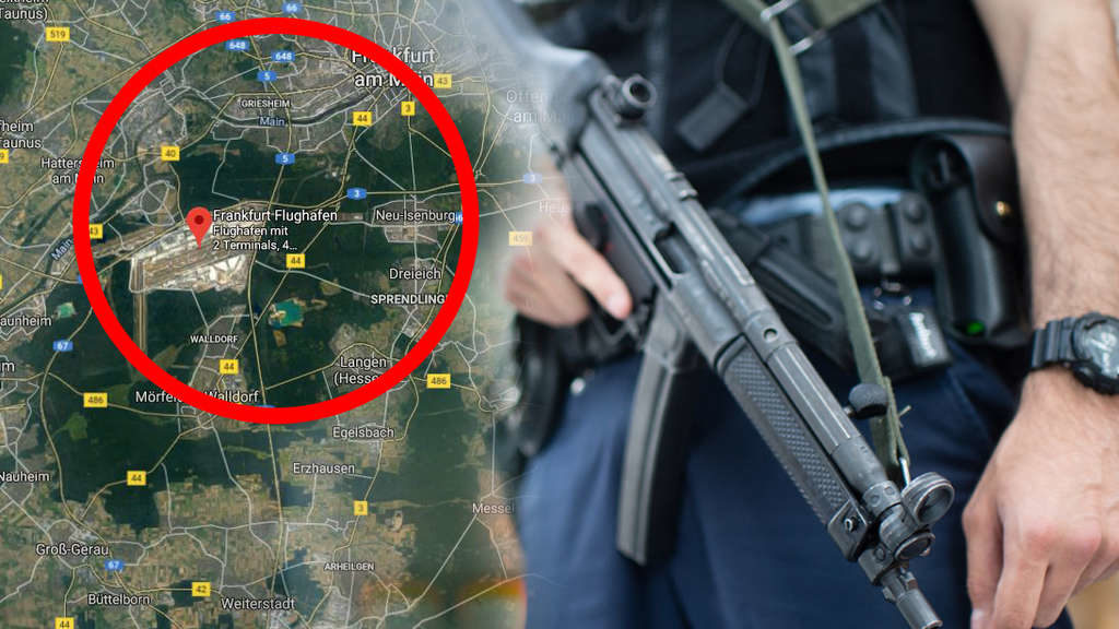 Flughafen-Frankfurt-Schock! Frau zieht sich aus – dann geht es richtig zur Sache