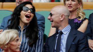 Jeff Bezos turtelt mit seiner Neuen in Wimbledon